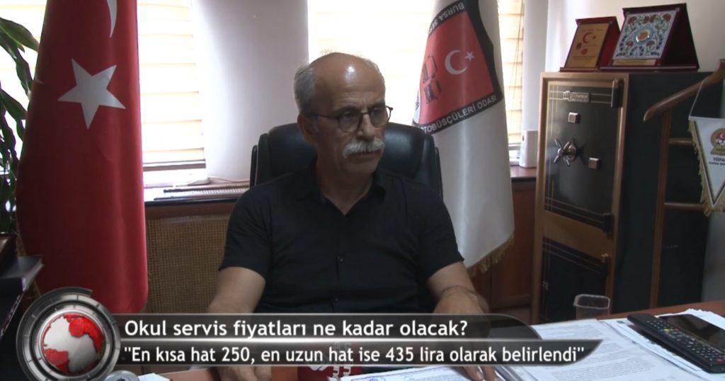 Bursa'da okul servisi fiyatları belli oldu!